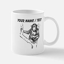 Custom Baby Chimp Sketch Mugs