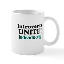Introverts Unite! Mugs