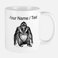 Custom Gorilla Sketch Mugs