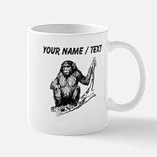 Custom Gorilla In Tree Mugs