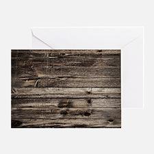 rustic barnwood western country Greeting Card
