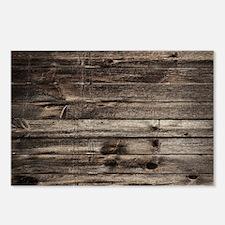 rustic barnwood western c Postcards (Package of 8)
