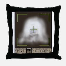 Spirit Photography Throw Pillow