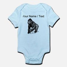 Custom Gorilla Sketch Body Suit