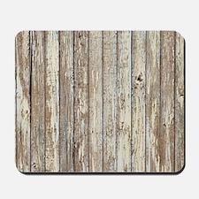 rustic barnwood western country Mousepad