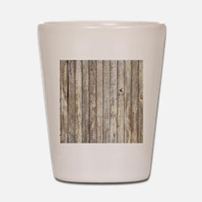 rustic barnwood western country Shot Glass