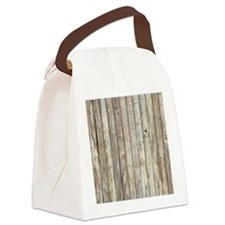 rustic barnwood western country Canvas Lunch Bag