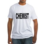 Chemist (Front) Fitted T-Shirt