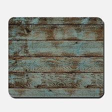 rustic barnwood woodgrain Mousepad