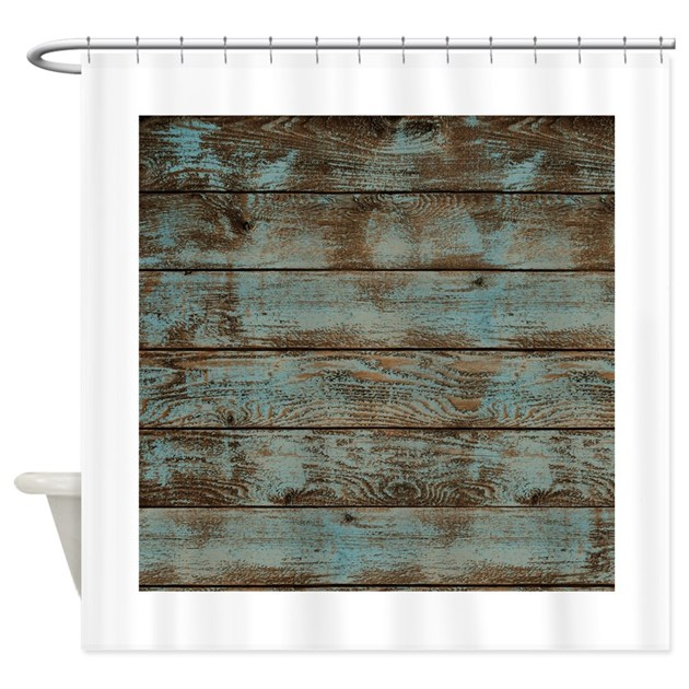 Rustic Barnwood Woodgrain Shower Curtain By Listing Store