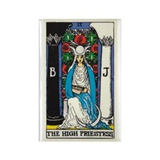 HIGH PRIESTESS TAROT CARD Magnets
