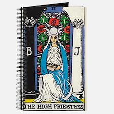 HIGH PRIESTESS TAROT CARD Journal