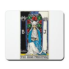 HIGH PRIESTESS TAROT CARD Mousepad