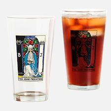 HIGH PRIESTESS TAROT CARD Drinking Glass