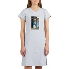 HIGH PRIESTESS TAROT CARD Women's Nightshirt