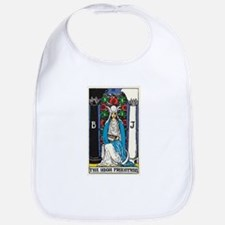 HIGH PRIESTESS TAROT CARD Bib