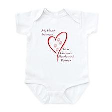 GSP Heart Belongs Infant Bodysuit