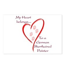 GSP Heart Belongs Postcards (Package of 8)