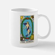 THE WORLD TAROT CARD Mugs