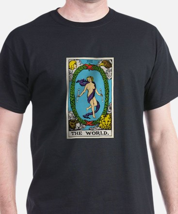 THE WORLD TAROT CARD T-Shirt