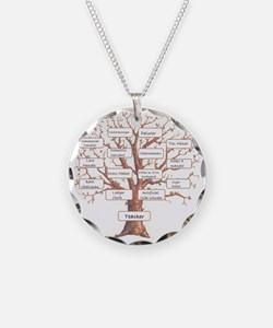 Family Occupation Tree Necklace