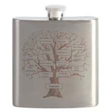 Family Occupation Tree Flask