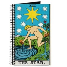 THE STAR TAROT CARD Journal