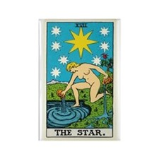 THE STAR TAROT CARD Magnets