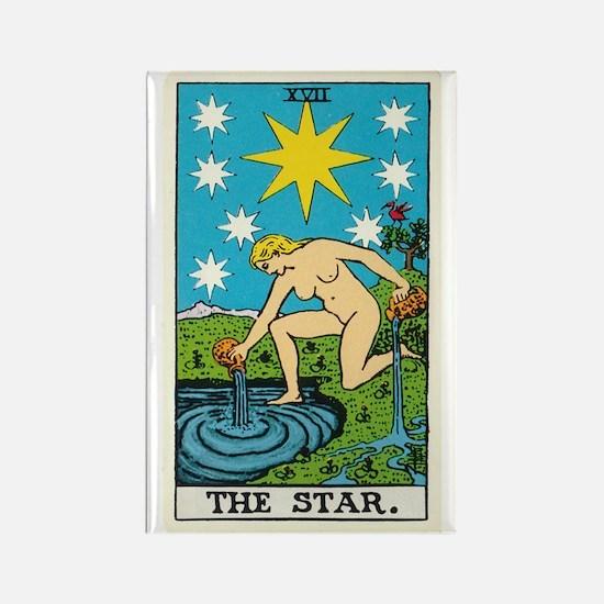 THE STAR TAROT CARD Magnets