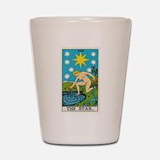 THE STAR TAROT CARD Shot Glass
