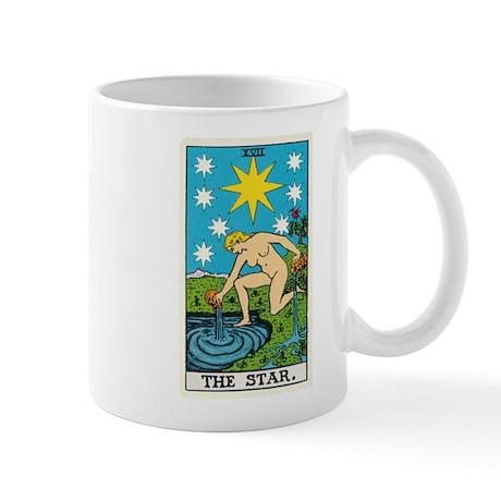THE STAR TAROT CARD Mugs