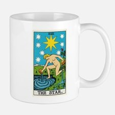 THE STAR TAROT CARD Mugs