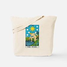 THE STAR TAROT CARD Tote Bag