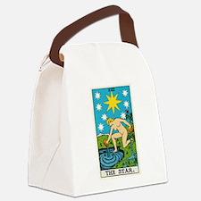 THE STAR TAROT CARD Canvas Lunch Bag