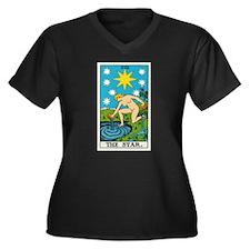 THE STAR TAROT CARD Plus Size T-Shirt