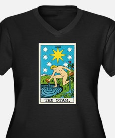 THE STAR TAROT CARD Plus Size T-Shirt