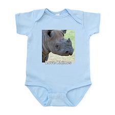 Love Rhinos Onesie
