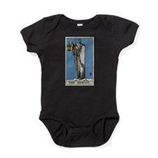 THE HERMIT TAROT CARD Baby Bodysuit