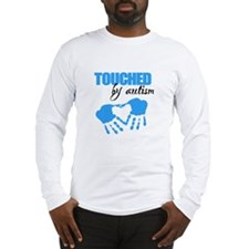 Touched Autism2D Long Sleeve T-Shirt