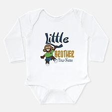 Monkey Little Brother Long Sleeve Infant Bodysuit