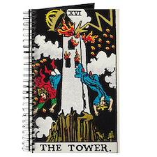 THE TOWER TAROT CARD Journal