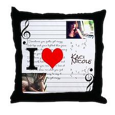 Unique Kaci Throw Pillow