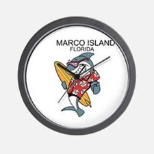Marco Island, Florida Wall Clock
