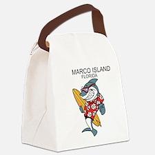 Marco Island, Florida Canvas Lunch Bag