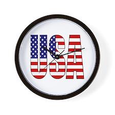 EUA / USA Wall Clock