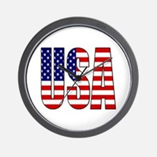 EUA / USA Wall Clock