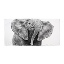 Baby African Elephant Beach Towel