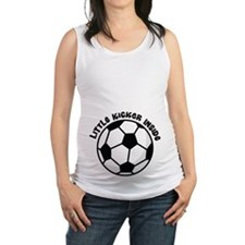 Soccer Ball Belly Print Maternity Tank Top