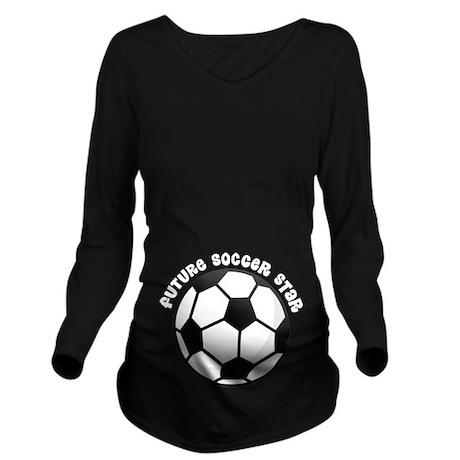 Future Soccer Star Pregnancy Long Sleeve Maternity