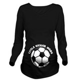 Soccer Dark Maternity Long Sleeves